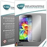 """4 x Slabo Displayschutzfolie Samsung Galaxy S5 / S5 Neo Displayschutz Schutzfolie Folie MATT """"No Reflexion-Keine Reflektion"""" - Entspiegelnd MADE IN GERMANY"""