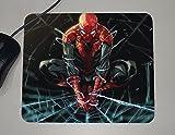 spiderman mouse pad - Spiderman - Marvel Comics Superheroes - Novelty Gift - Custom Name Mouse Pad