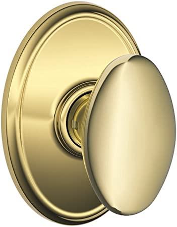 Schlage Wakefield Collection Siena Aged Bronze Hall /& Closet Passage Knob