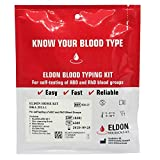 2 x Eldoncard Home Blood Group Test - Eat Right 4