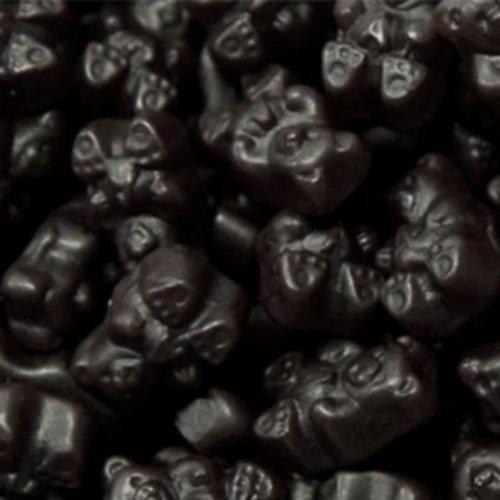 Black Cherry Gummy Bears 1LB Bag