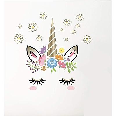 Main Street Wall Creations Jumbo Stickers - Peaceful Unicorn : Baby