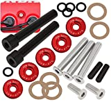 Acura Honda D-Series D15 D16 Jdm Low Profile Engine Valve Cover Washer Bolt Red