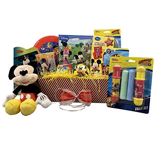 Gift Idea for Kids :: XOXO Mickey themed Colorful Basket 12x6x4 ()