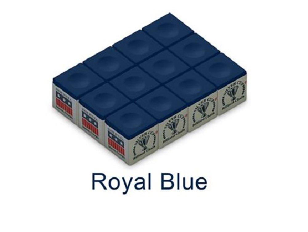 Silver Cup SC-12-ROYALBLUE Chalk Dozen Box, Royal Blue by Silver Cup (Image #1)