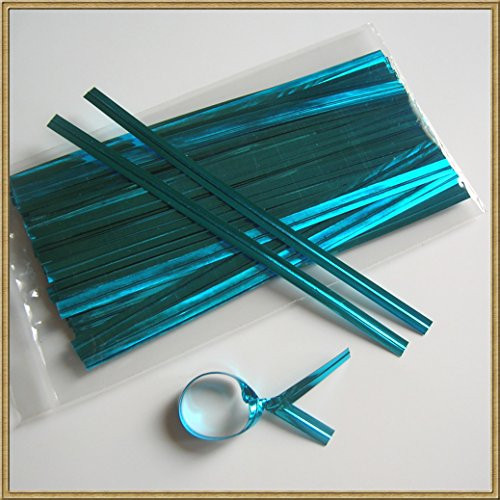 Metallic Blue Twist (100pcs 4