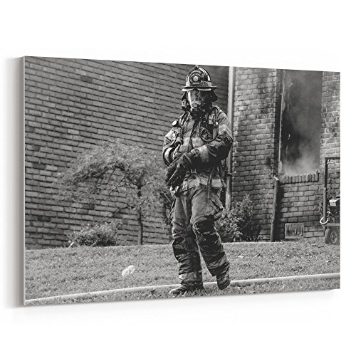 Westlake Art - Canvas Print Wall Art - White Soldier on Canvas Stretched Gallery Wrap - Modern Picture Photography Artwork - Ready to Hang - 18x12in (*7x-960-71f) (Protective Regulations Personal Work Equipment At)