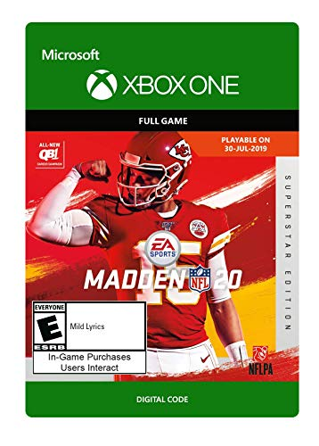 Madden NFL 20: Superstar Edition [Xbox One Digital Code]