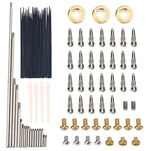 (Alto Sax Repair Maintenance Kit Set, Wind Musical Instrument Parts Accessories for Saxophone Fix Replacement Part DIY )