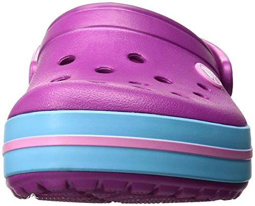 36 Eu 37 Croc vibrant Adulte Band Sabots Crocs Violet Mixte Clog Violet 7xAqHPwzp