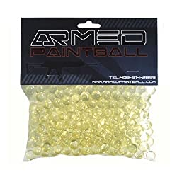.43 Caliber Paintballs (Bag of 250) Clear