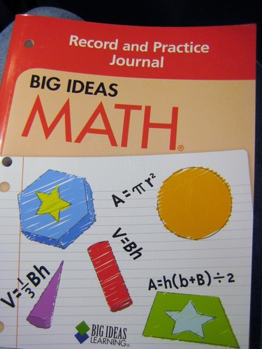 Big Ideas Math Red Record and Practice Journal (Big Ideas Math, red) ebook