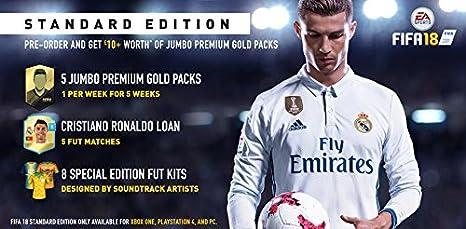 FIFA 18 [Importación francesa]: Amazon.es: Videojuegos