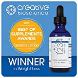 Creative Bioscience 1234 Diet Drops (3 Pack)