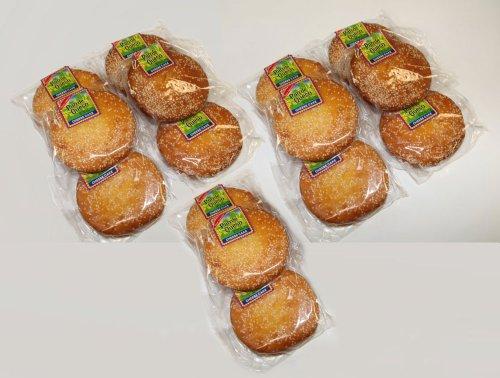 BON Appetit Pan De Queso Cheese Cakes, Mexican Pastries, 6 Pieces