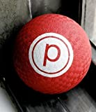 Pure Barre White Logo 5'' Red Exercise Ball