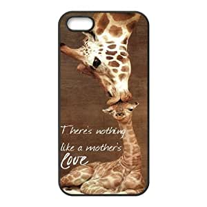 ZLGU(RM) Iphone 5,5S Case with Giraffe Customized Case, Personalized phone case