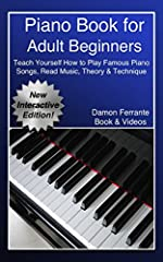 This book and streaming video course is all that you will ever need for getting started playing the most famous and cherished piano classics!Piano Professor, Damon Ferrante guides you through how to play the piano with step-...