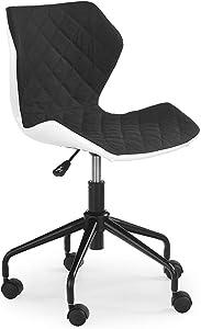 Modern Home Ripple Mid-Back Office Task Chair - White/Black