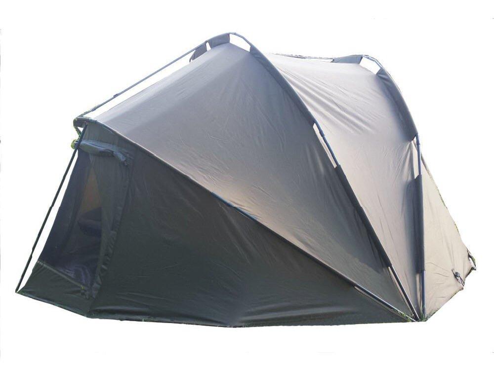 Tienda de campa/ña para pesca incluye cubierta MK-Angelsport 5 Seasons Dome deluxe 3,5 Mann