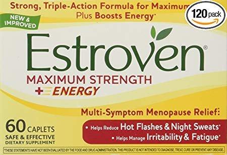 Estroven Maximum Strength One Per Day, 120 Caplets For Sale
