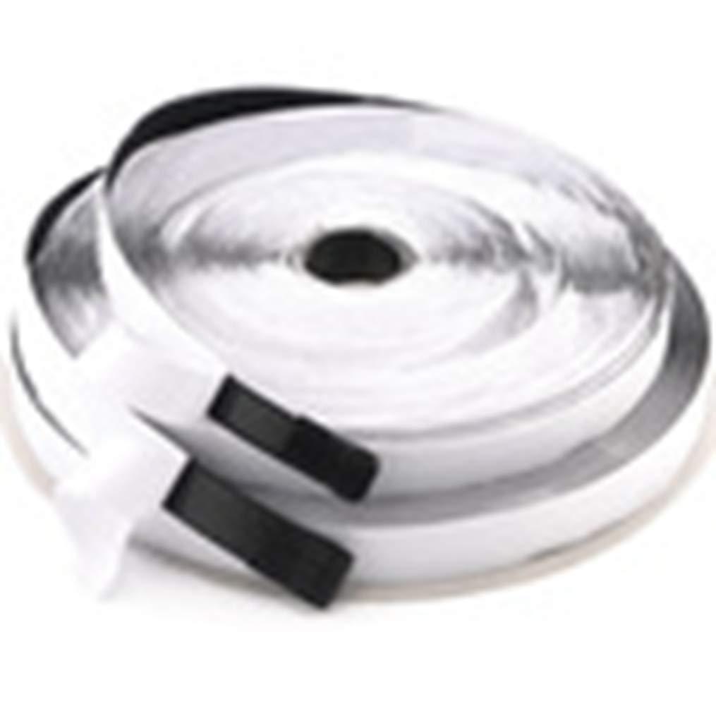 フックアンドループ 100mm1m ブラック/ホワイト 粘着ファスナー 強力ストリップテープ ホームデコレーション ホワイト 100mm*1m  ホワイト B07GPPM43Z