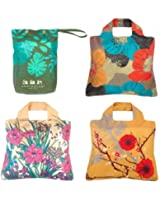 Envirosax, Floral Motif, Set of 3 Reusable Shopping Bags