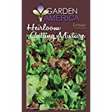 Garden America LAT-1268 Heirloom Lettuce Mixture Seed