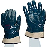 Ansell Hycron 27-805 Nitrile High Temperature Glove, Fully Coated on Jersey Liner, X-Large (Pack of 12 Pairs) by Ansell