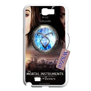 The Mortal Instruments City of Bones DIY Durable Case for Samsung Galaxy Note2 N7100,The Mortal Instruments City of Bones custom case
