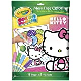 Crayola Color Wonder Hello Kitty 18 Page Coloring Pad and 5 Count Marker