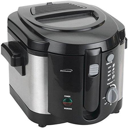 Brentwood BLZ-17144 Deep fryer, One Size, multi by Brentwood (Image #1)