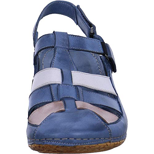 Gemini Pour 822 Femme Bleu Sandales 32208 OqOWAr0B