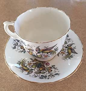Amazon Com Vintage Crown Fine Bone China Staffordshire