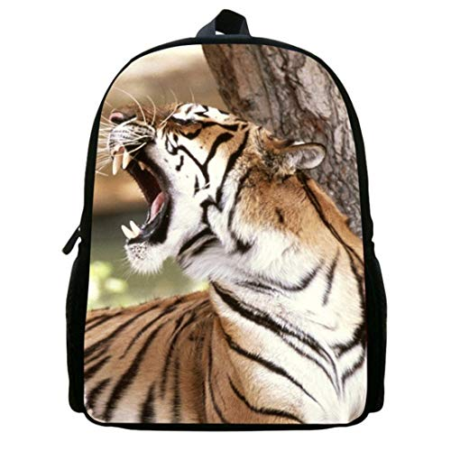 12ib4008 Fashion Animal 3D Men's Print Backpack Bag Polyester 0IRqwvg