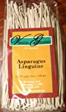Virginia Gourmet Asparagus Linguine Vegan Pasta-6 PACK- All Natural Contains Wheat Flour Asparagus & Water
