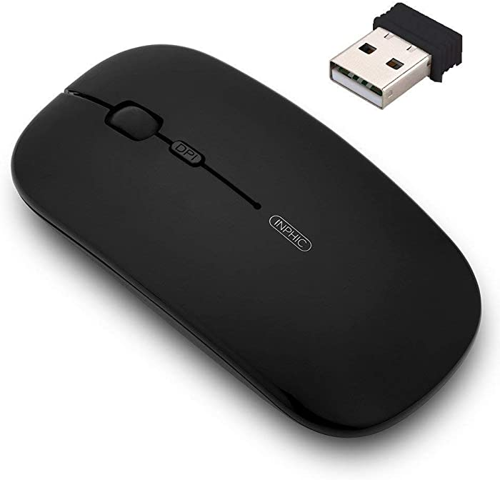 Top 10 Rechargable Battery Wireless Mouse For Laptop