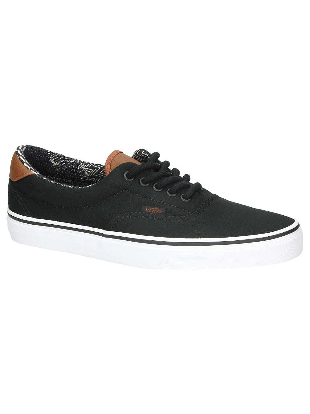 Vans - Unisex-Adult Era 59 Shoes, Size: 6.5 D(M) US Mens/8 B(M) US Womens, Color: (C&L) Black/Material Mix by Vans