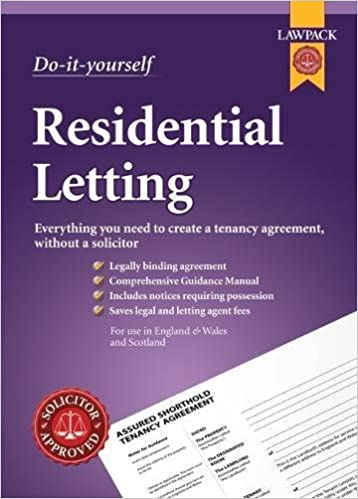 Do It Yourself Residential Lettings Lawpack Amazon Anthony
