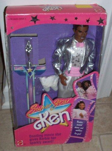 1988 Super Star Ken Doll Ethnic Barbie Doll Item #1550