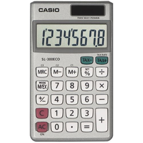Wallet Style Pocket Calculator by Casio