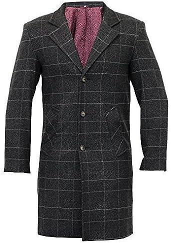 trench coat homme tweed