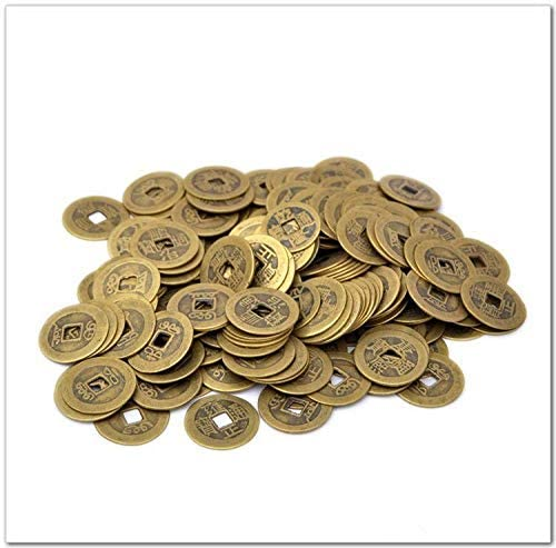 Amazon Com 10pcs Chinese Feng Shui Coins For Wealth And Success Home Kitchen