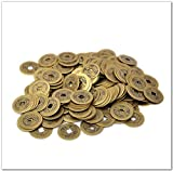 10pcs Chinese Feng Shui Coins for Wealth and Success