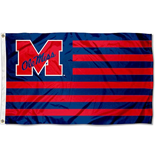 Ole Miss Stars and Stripes Nation Flag]()