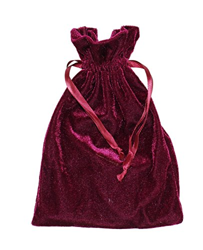 Velvet Jewelry Bag, Soft Drawstring Pouch, Tarot, Dice, Rune or Card Gift Bag, Small 4