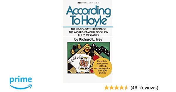 According To Hoyle The Up To Date Edition Of The World Famous Book