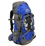 Hiking Backpack 20in Long (45L + 5L) (light blue)
