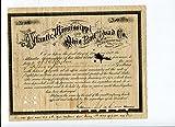 General William Mahone CSA Confederate Civil War Signed Autograph Document - NFL Cut Signatures