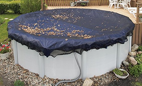 Above-ground Pool Leaf Net -Pool Size: 18 in x 40 in Oval-Arctic Armor 5 Yr Warranty by Arctic Armor